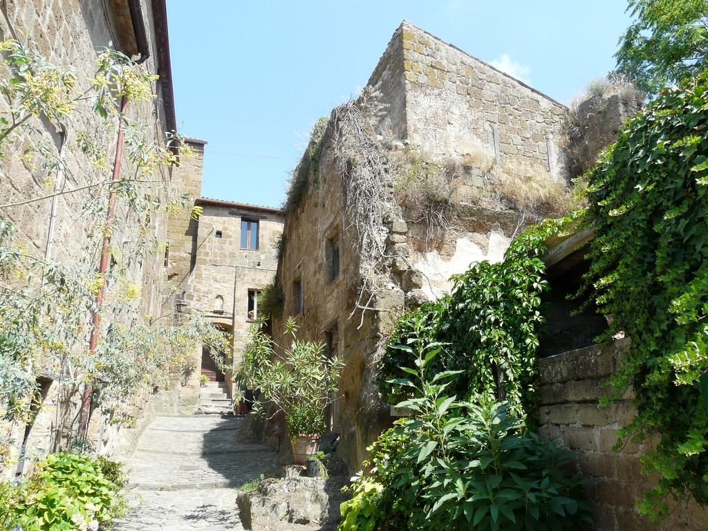 Мертвый город Civita di Bagnoregio 5