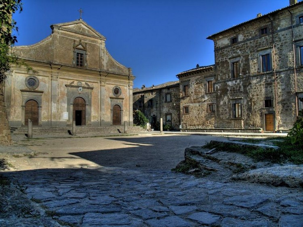 Мертвый город Civita di Bagnoregio 6