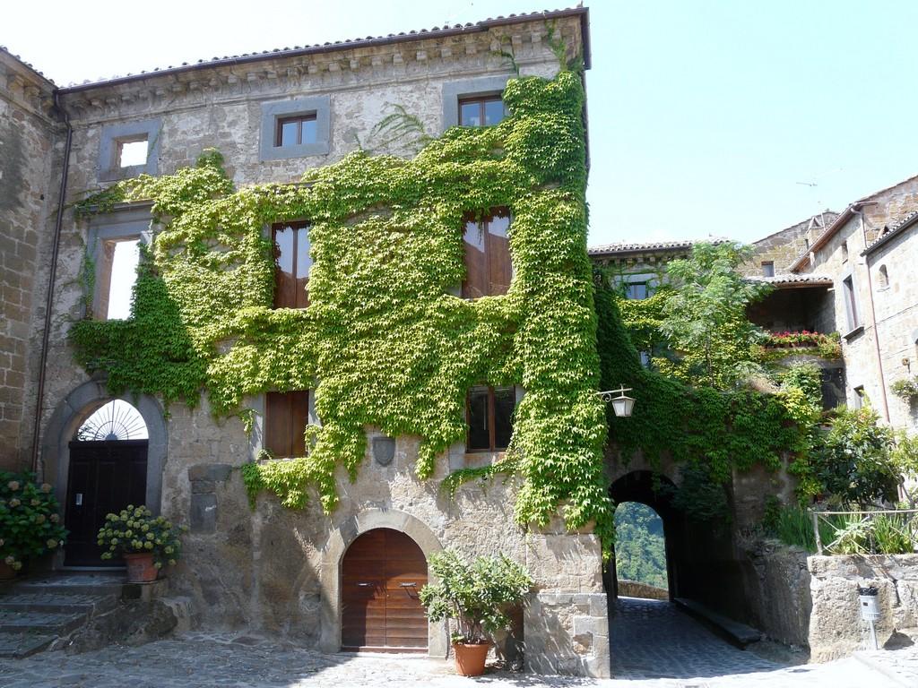 Мертвый город Civita di Bagnoregio 7