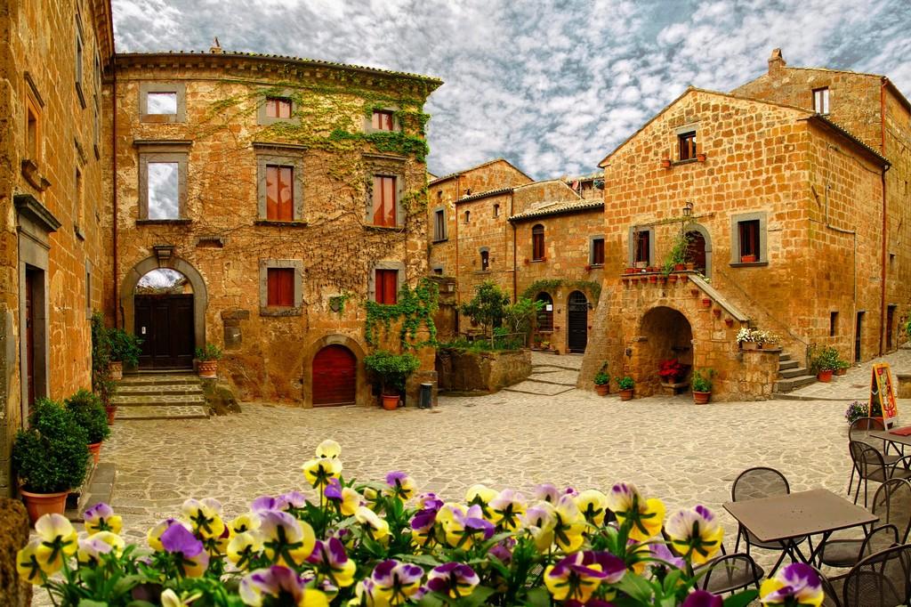 Мертвый город Civita di Bagnoregio 8