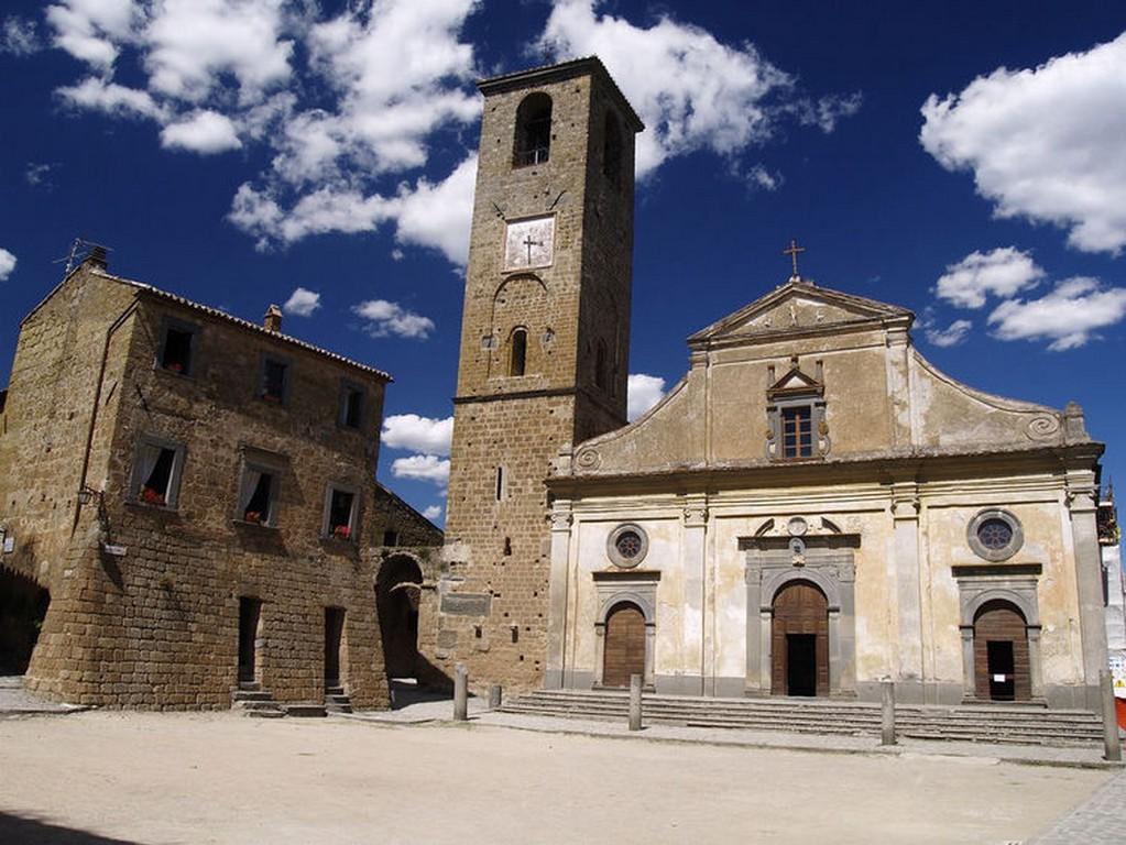 Мертвый город Civita di Bagnoregio 9