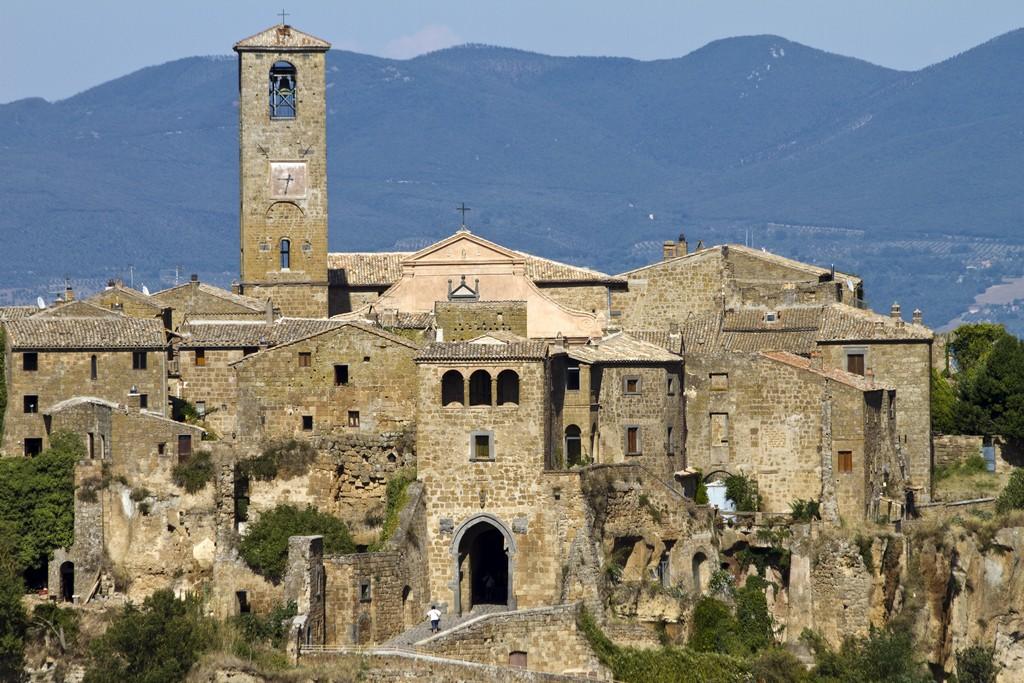 Мертвый город Civita di Bagnoregio 10