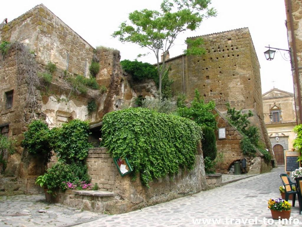 Мертвый город Civita di Bagnoregio 11