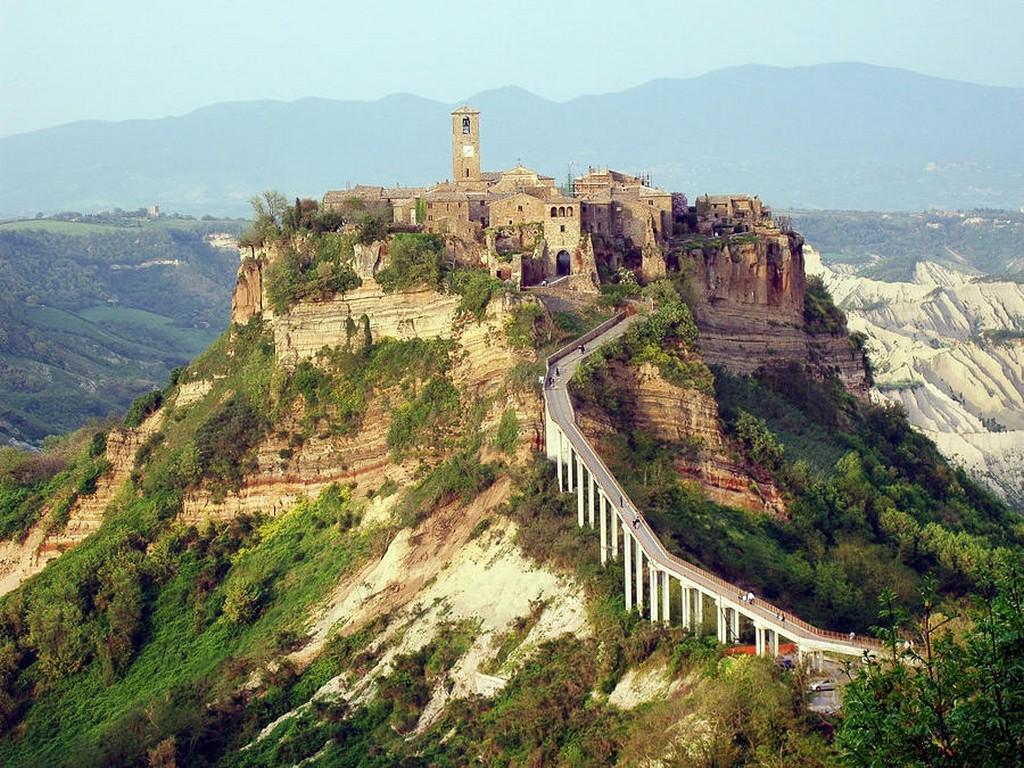 Мертвый город Civita di Bagnoregio 12