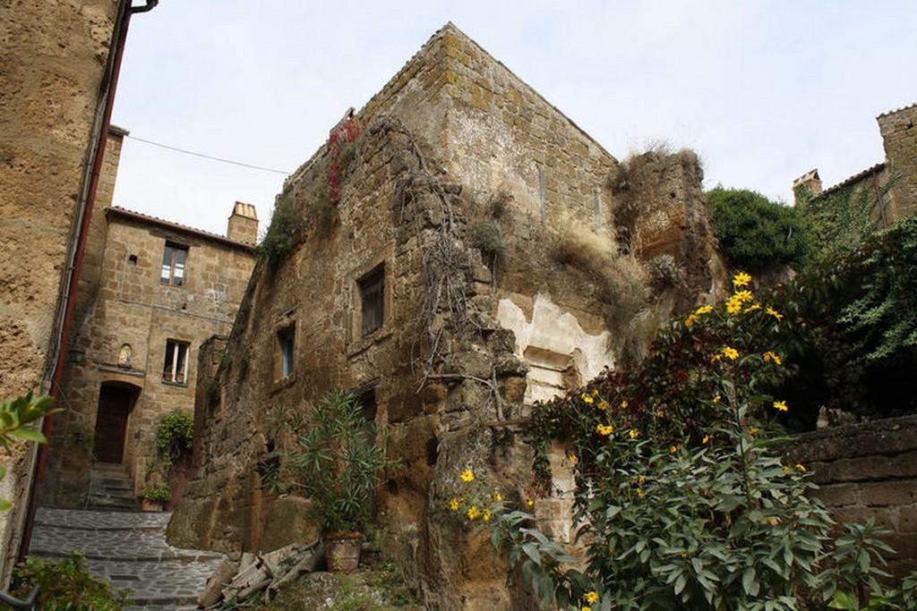 Мертвый город Civita di Bagnoregio 13