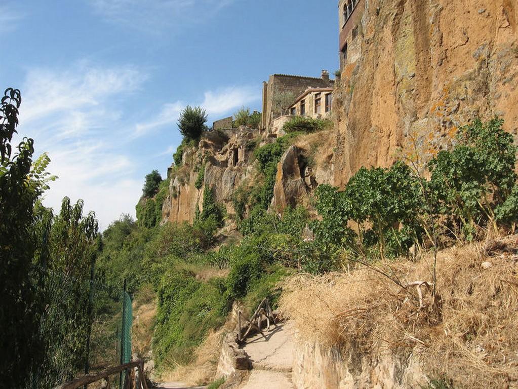 Мертвый город Civita di Bagnoregio 14