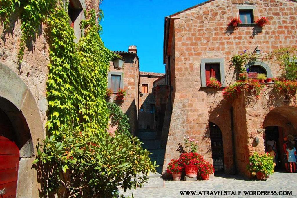 Мертвый город Civita di Bagnoregio 15