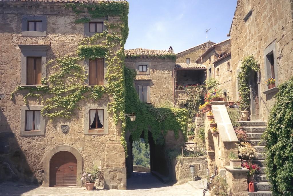 Мертвый город Civita di Bagnoregio 16