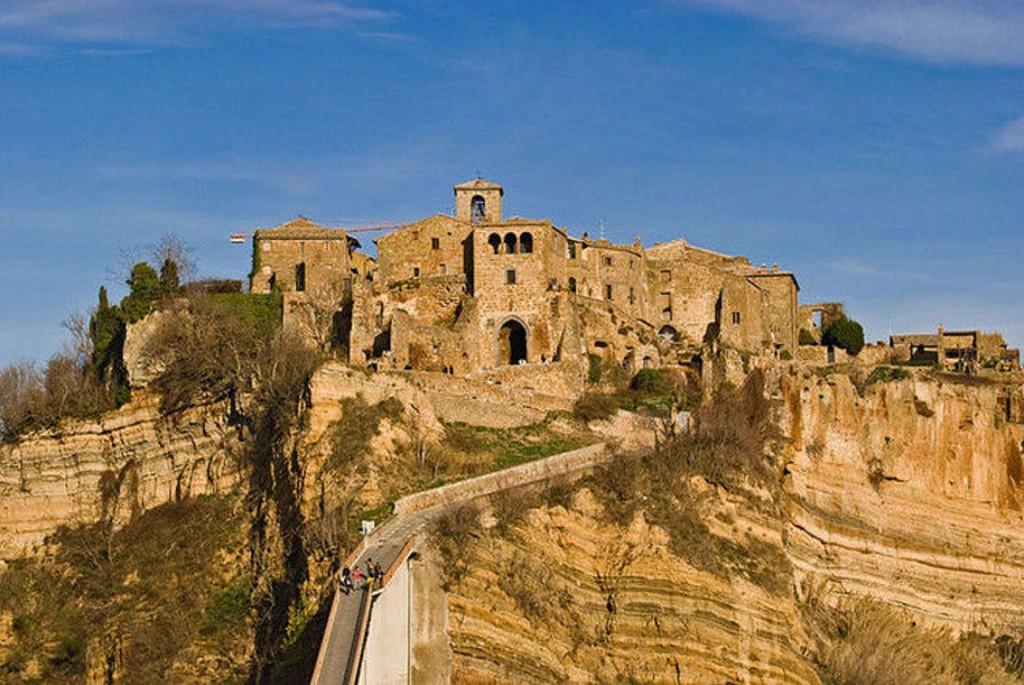 Мертвый город Civita di Bagnoregio 17