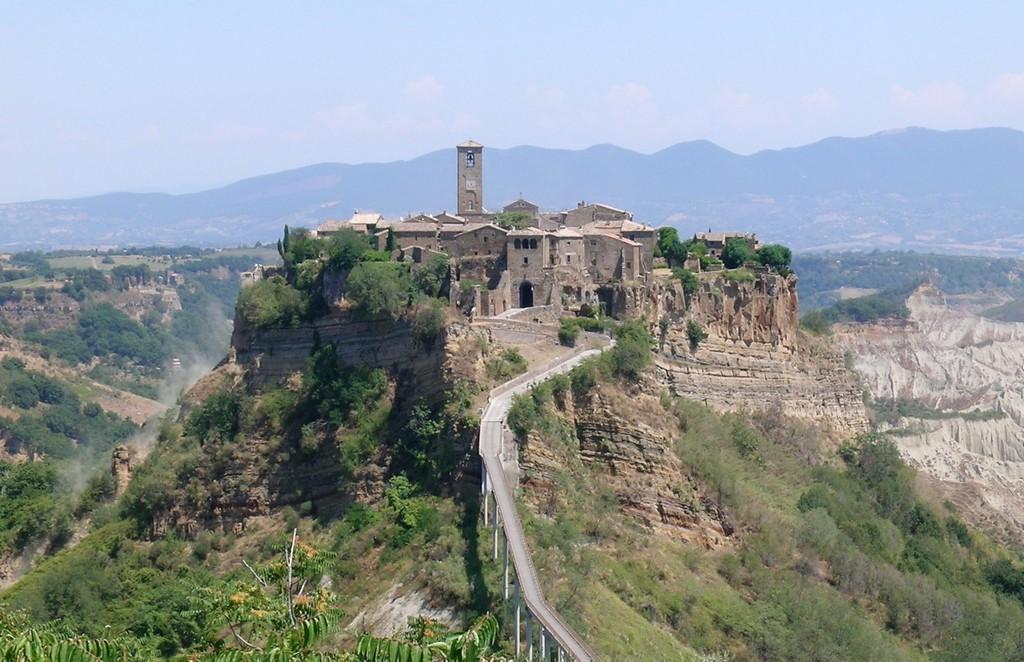 Мертвый город Civita di Bagnoregio 19