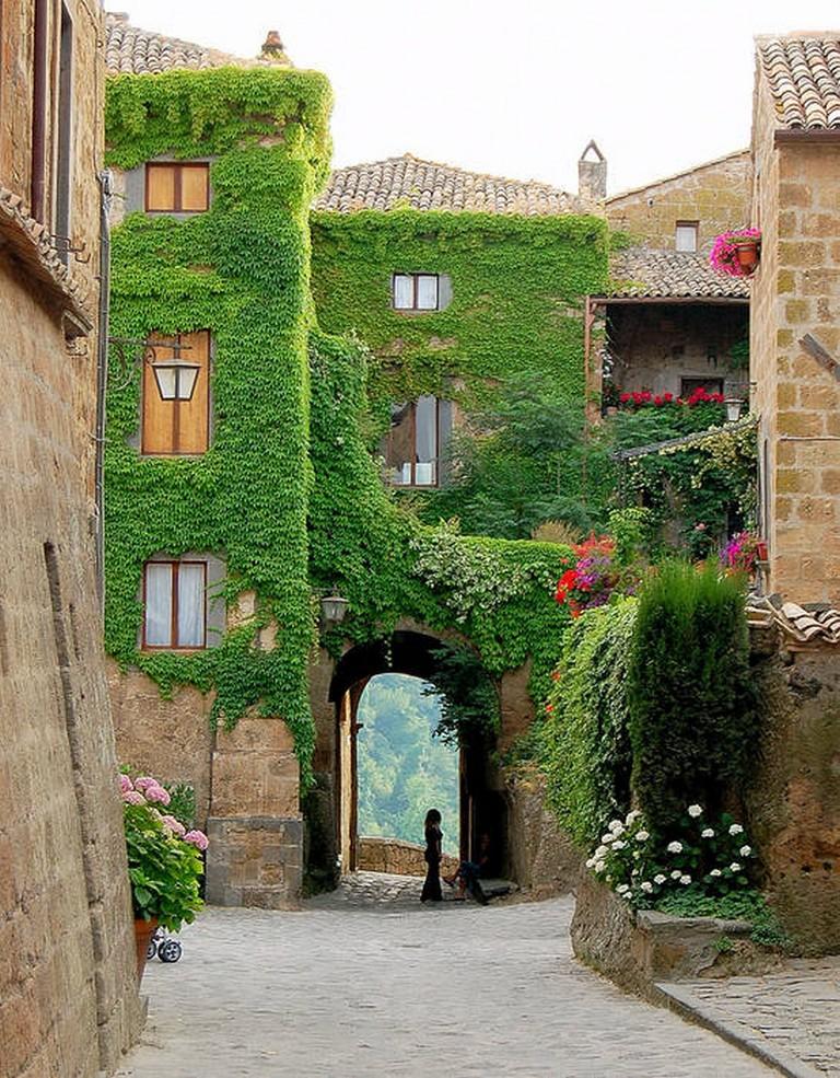 Мертвый город Civita di Bagnoregio 20