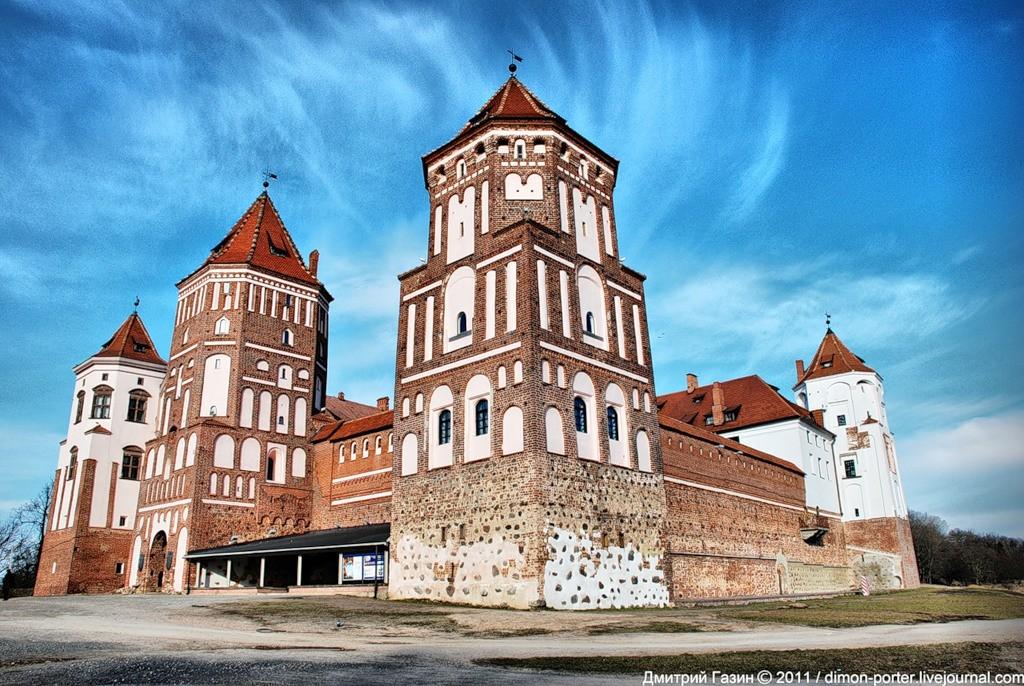 Мирский замок - достопримечательности Беларусии 6
