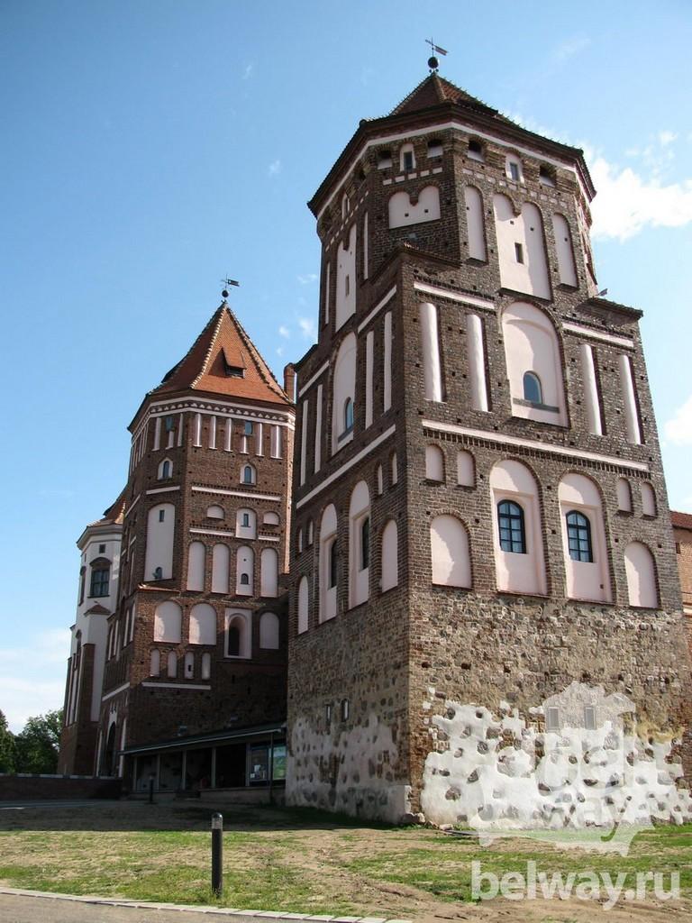Мирский замок - достопримечательности Беларусии 9