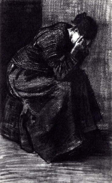Ван Гог. Плачущая женщина