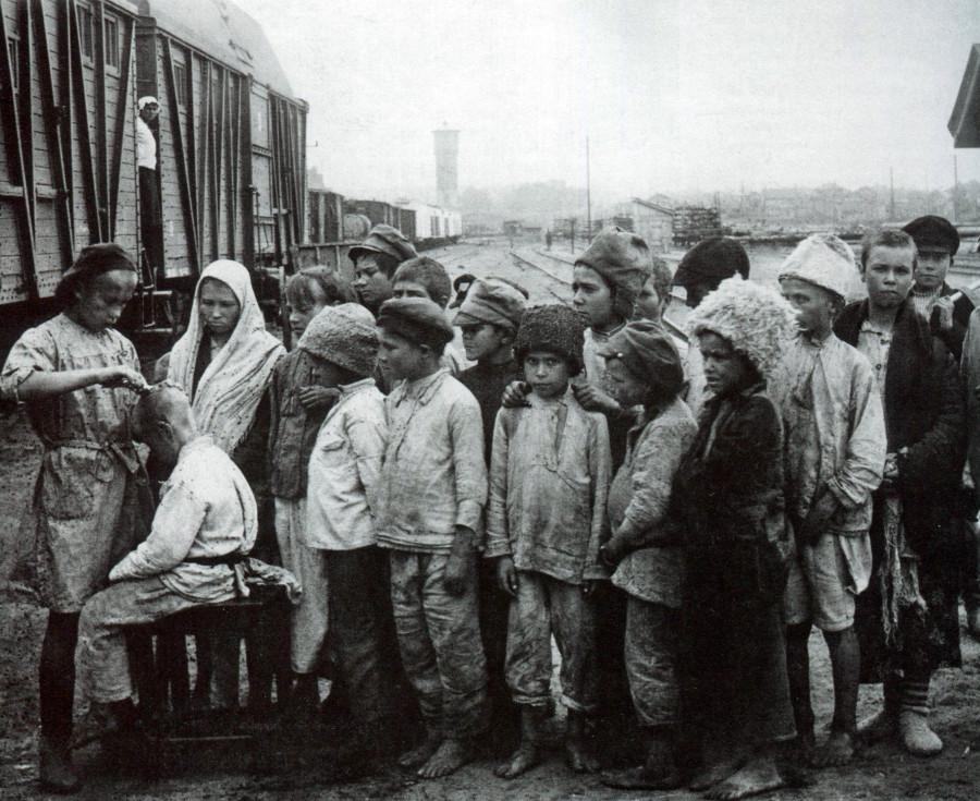Дети Гражданской войны.