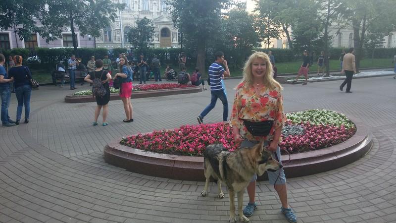 Оля с Канисом 23 июня 2015 6.jpg