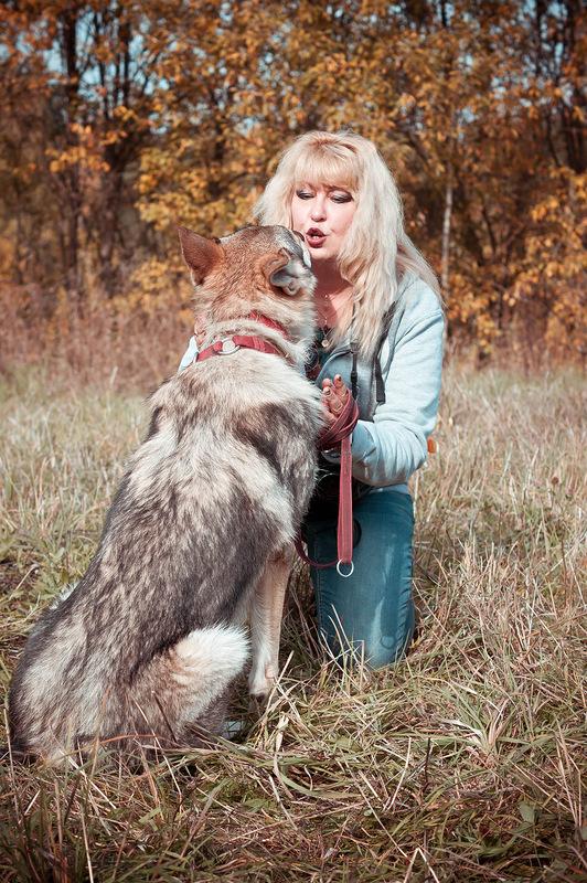 Ольга с Канисом съёмки 4.jpg