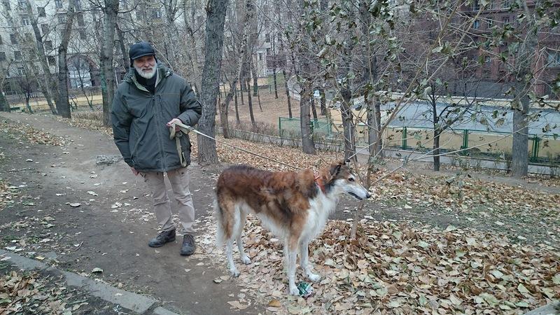 Владимир Петрович Косынкин и Топаз ноябрь 2014 1.jpg