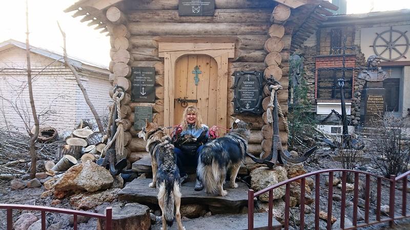 Ольга с Кармой и Канисом 13 апреля 2018 3.jpg