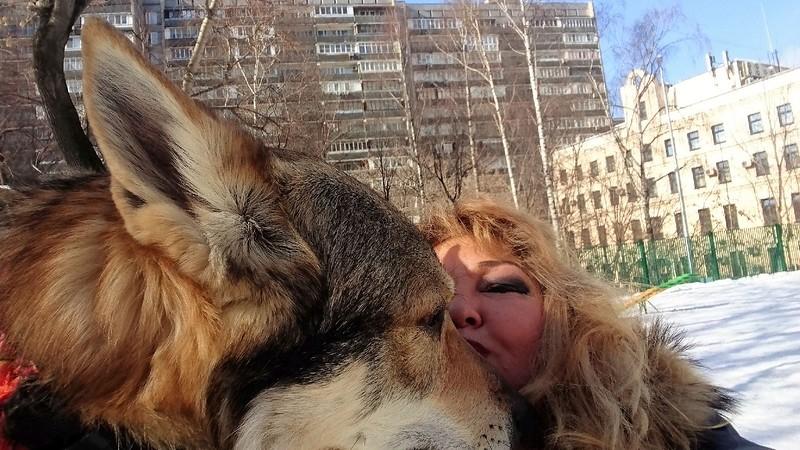 Ольга с Канисом 22 марта 2018 1.jpg