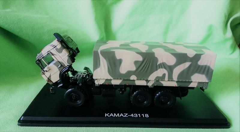 Макет машины КАМАЗ 43118 4.jpg