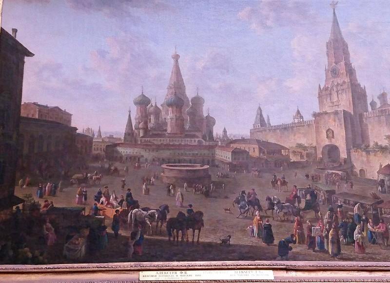 Красная площадь 1801 год Алексеев.jpg