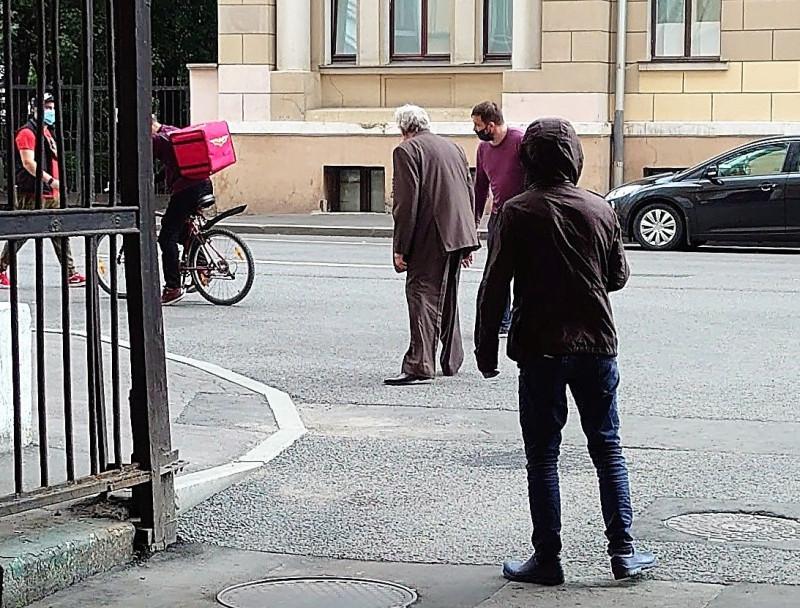 Съёмки на Гончарной улице. Юрий Стоянов. 17 июля 2020 1.jpg
