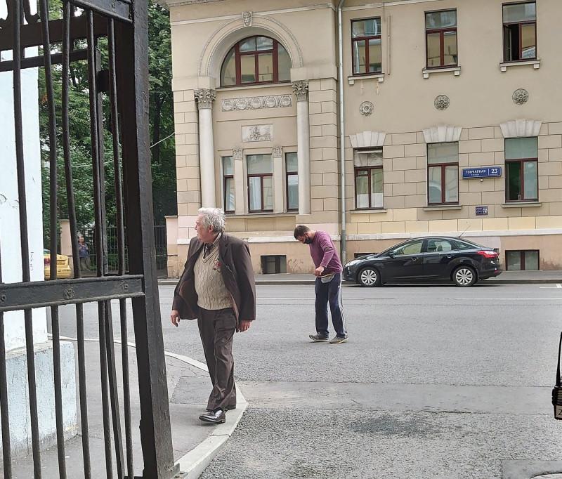 Съёмки на Гончарной улице. Юрий Стоянов. 17 июля 2020 3.jpg