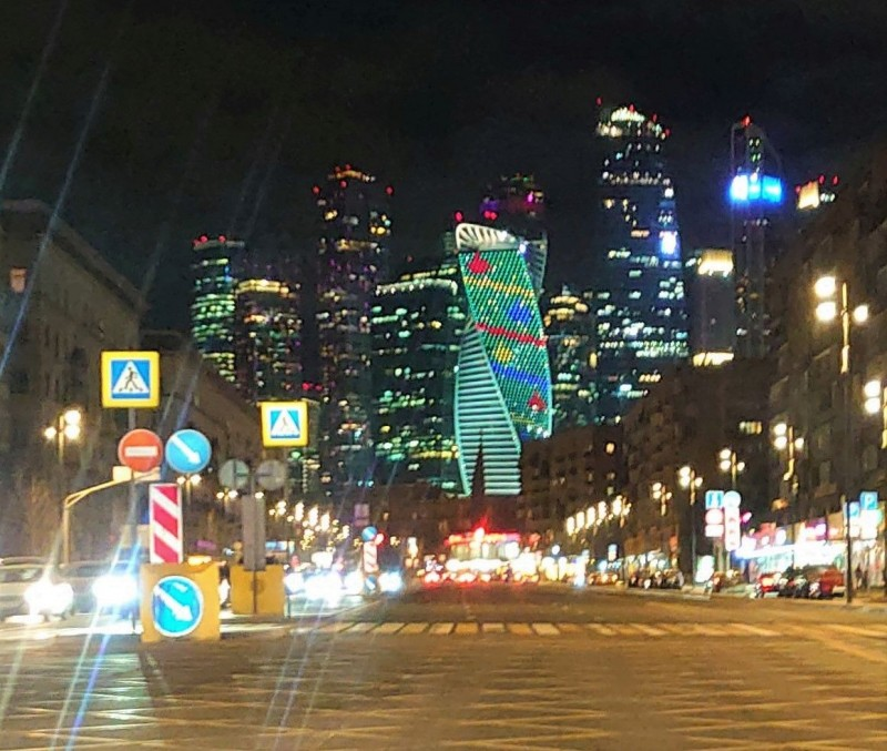 Москва Сити из окна автомобиля 1.jpg