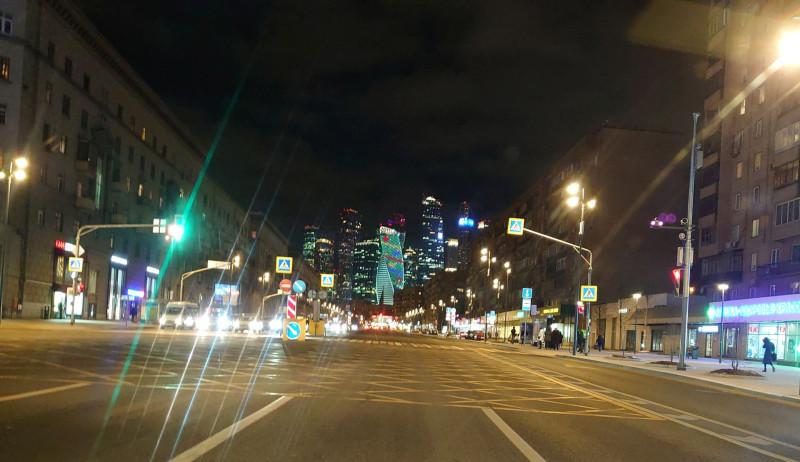 Москва Сити из окна автомобиля 3.jpg
