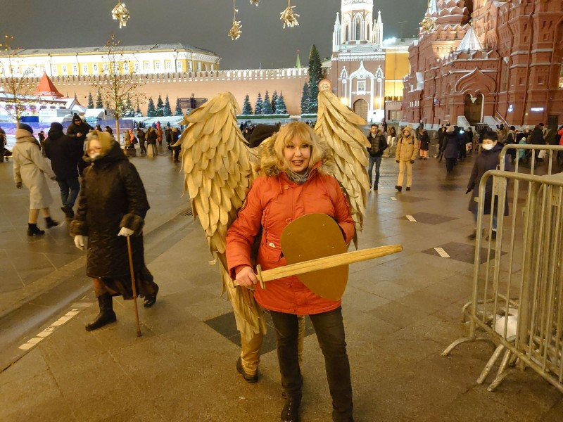 Ольга и архангел Михаил 10 января 2021 2.jpg
