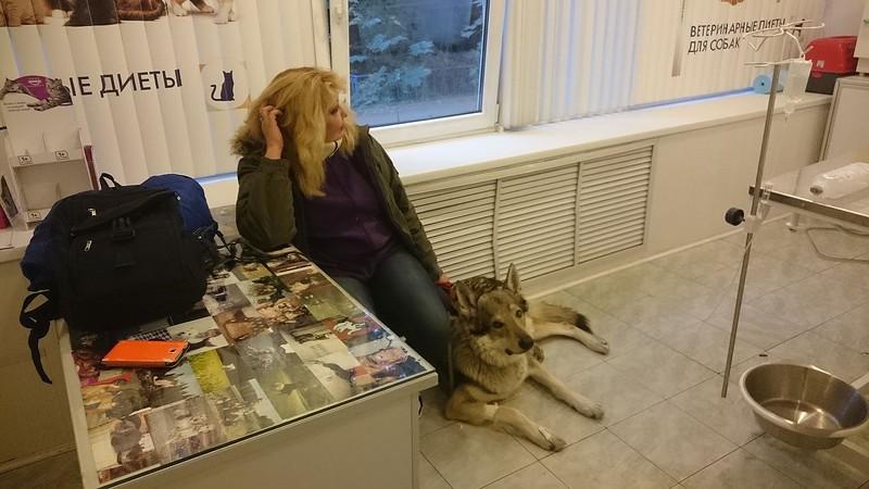Оля с Канисом 12 октября 2016 1.jpg