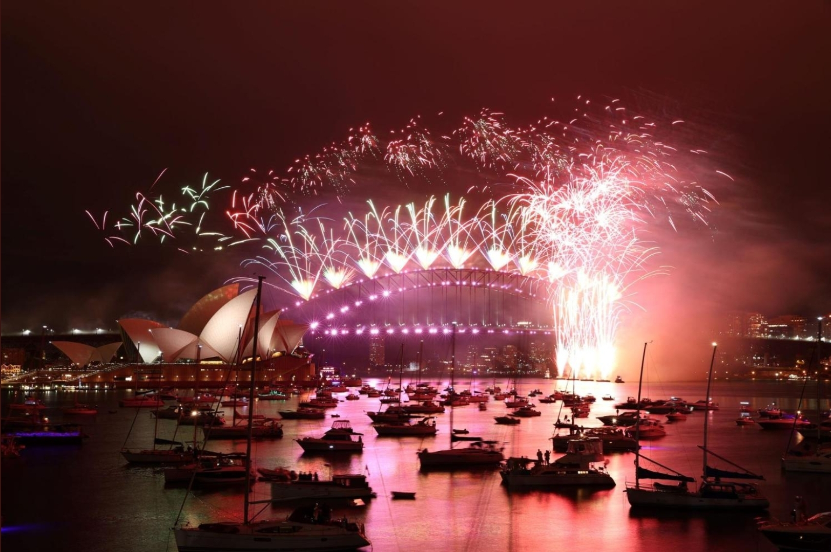 Happy new year everyone from Australia 🎉Here's to a better 2021 😘