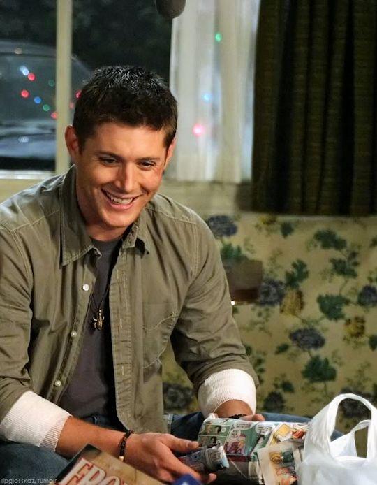 Jensen a very spn xmas myed
