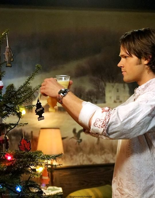 Supernatural sam xmas myed