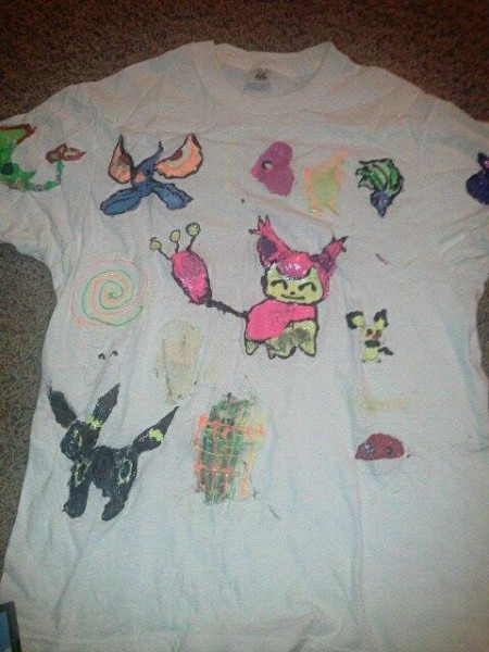 A shirt I made when I was in grade school