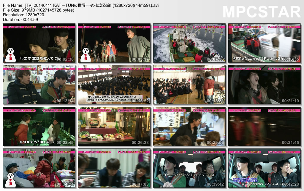 [TV] 20140111 KAT-TUNの世界一タメになる旅! (1280x720)(44m59s)_20140111-21512595