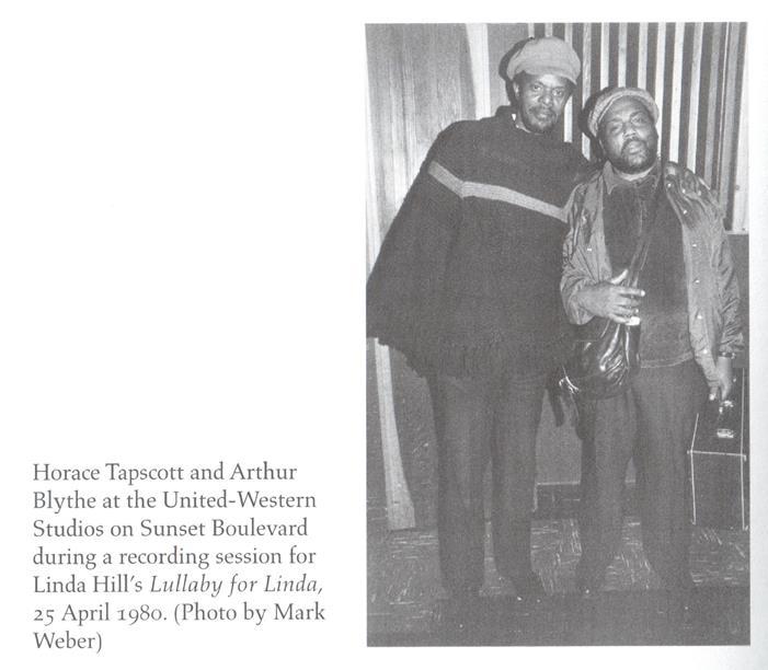 Horace Tapscott & Arthur Blythe