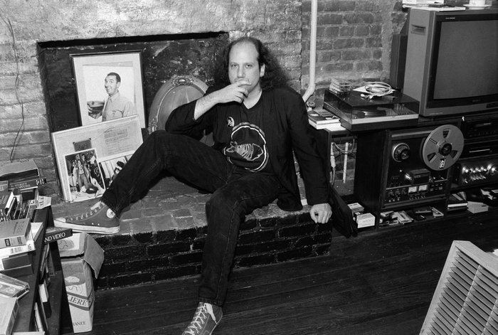 Mr. Willner in his East Village home in 1991. Credit Sara Krulwich - The New York Times