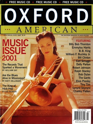 Oxford American Cover July 2001