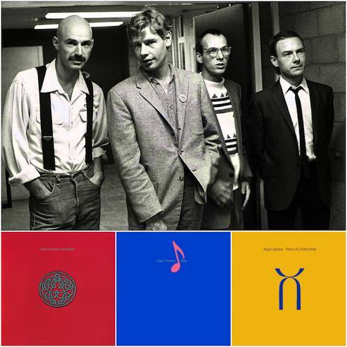King Crimson in 80s