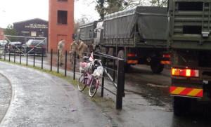 Army lorries