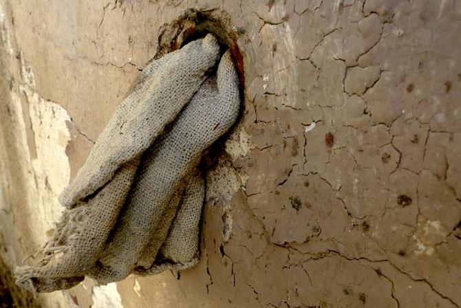 Makeshift home insulation