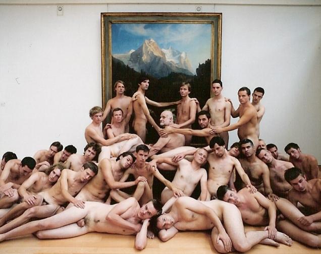 Spencer Tunick Photographs. Spencer Tunick, 'Dusseldorf 5