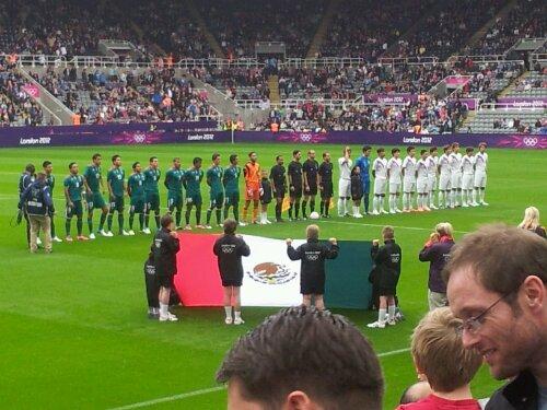London Olympics  Match Korea Vs Mexico Ontd_football