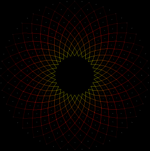 ''Sunburst'' Mandala
