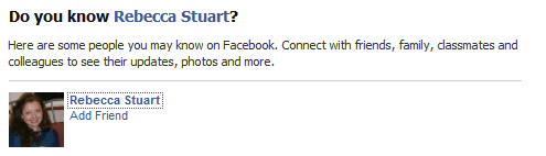 Facebook has asked me this about 5 times