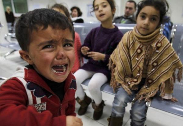 Дети и война сирия фото