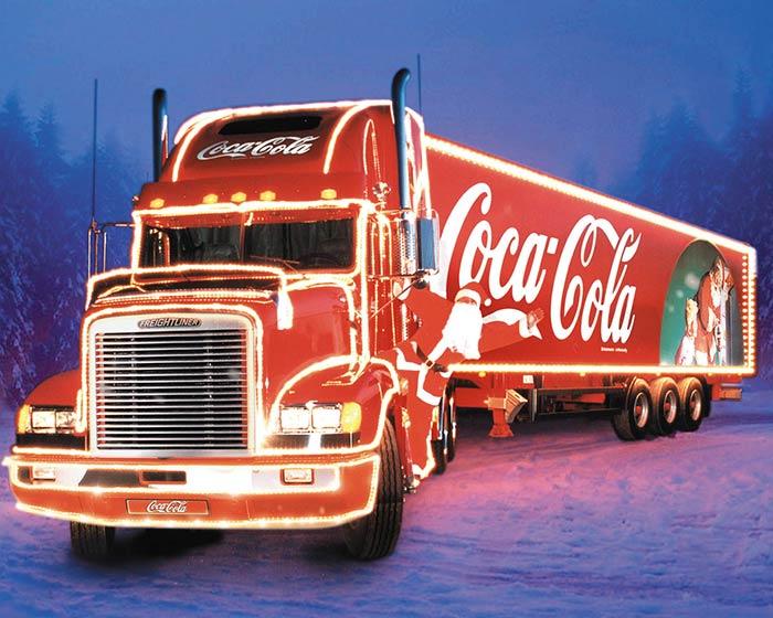 Фургончик Санта Клауса