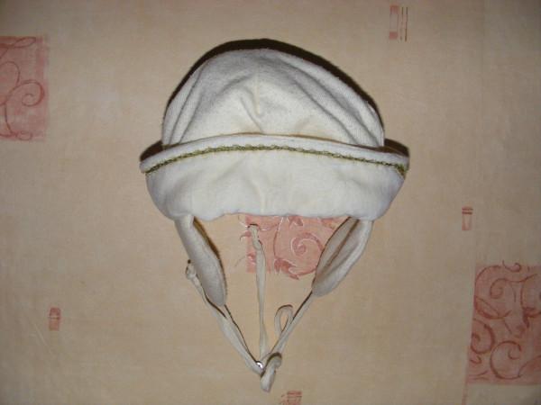 Нарядный комбинезон с шапочкой